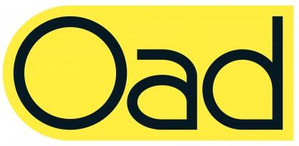 Oad logo PMS102-ZWART