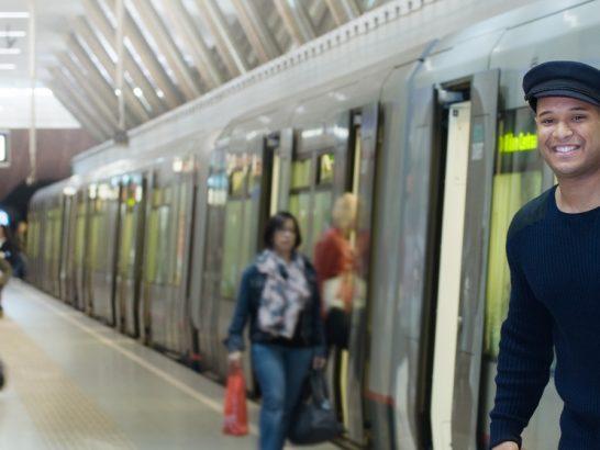 Met metro, tram en bus naar de Wereldhavendagen