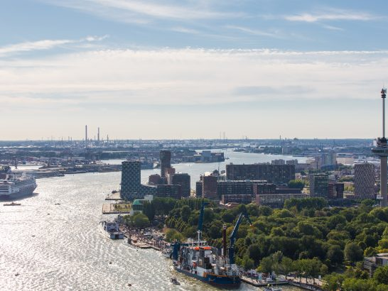 Rotterdam wint award Greenest Port of the Year!