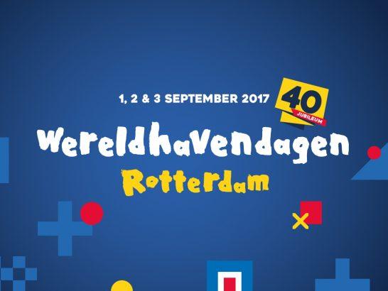 Thema voor 40e editie Wereldhavendagen bekend!