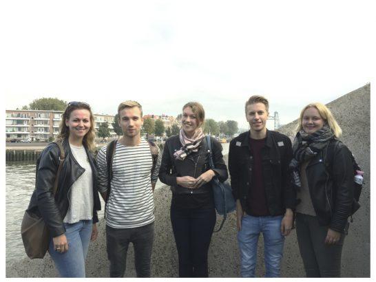 HTRO studenten aan de slag voor de Wereldhavendagen